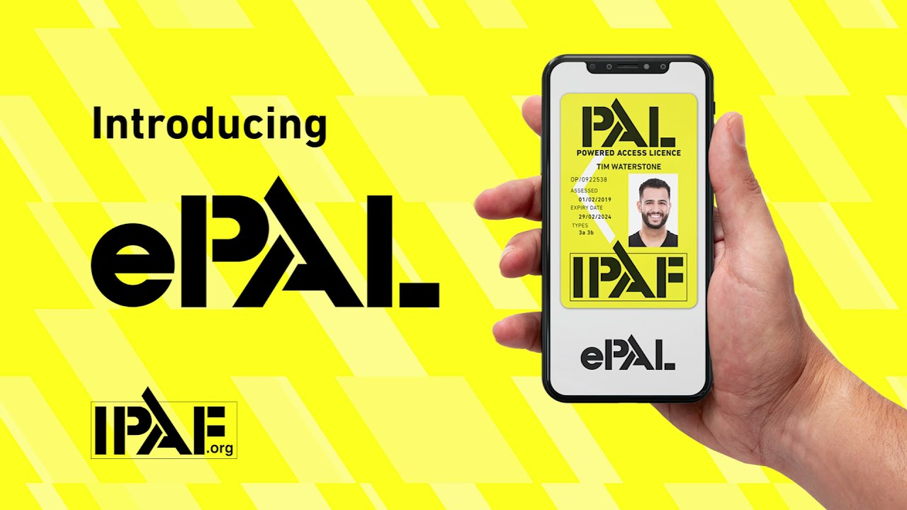 Frequently Asked Questions regarding the new IPAF ePAL app
